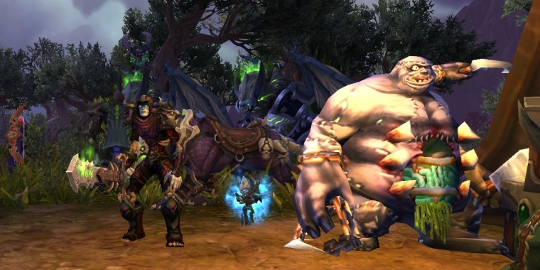 WoW: Warlords 2 PvP-Transmogset für Todesritter