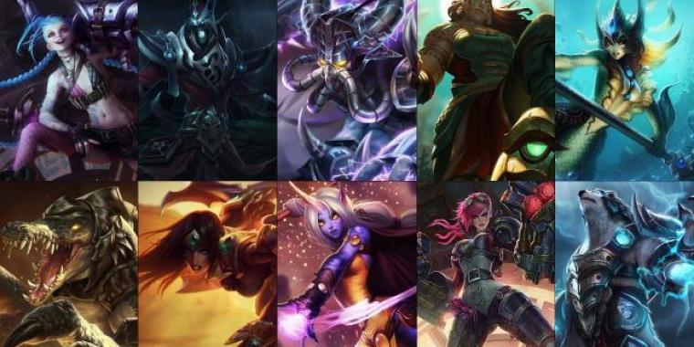 league of legends kostenlos champions