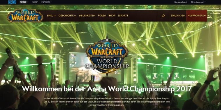 WoW: Blizzard führt esport-Seite mit Turnier-Streams