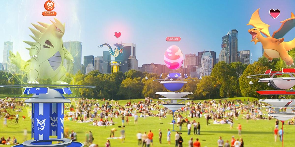Pokemon Go Arena Karte.Pokemon Go So Findet Ihr Leichter Raids Von Eurem Sofa Aus