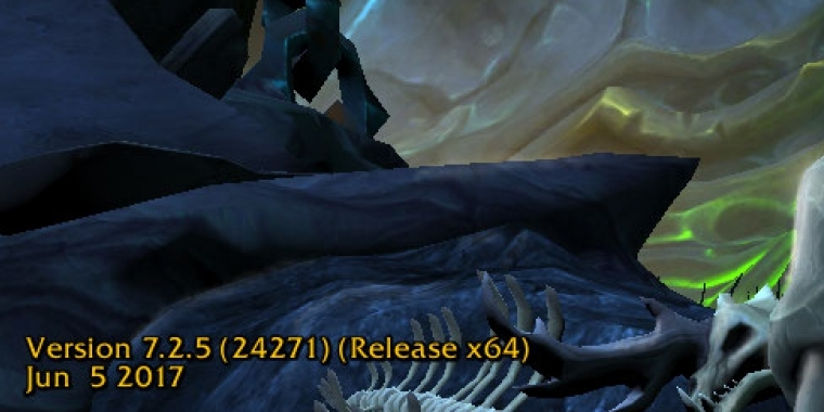 WoW Legion Patch 7.2.5 Release Candidate