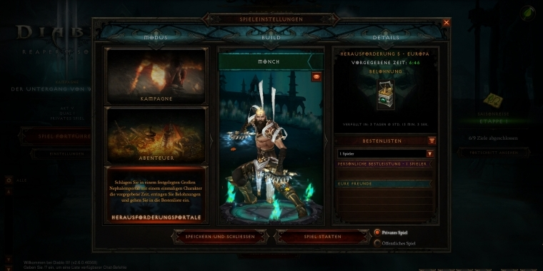 Diablo 3 Builds