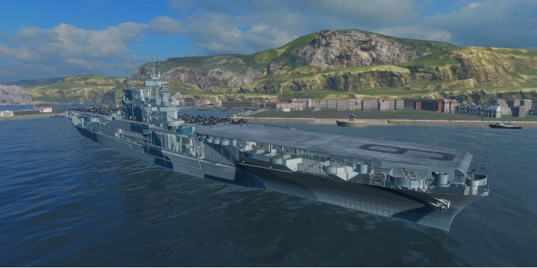 Image result for uss enterprise world of warships