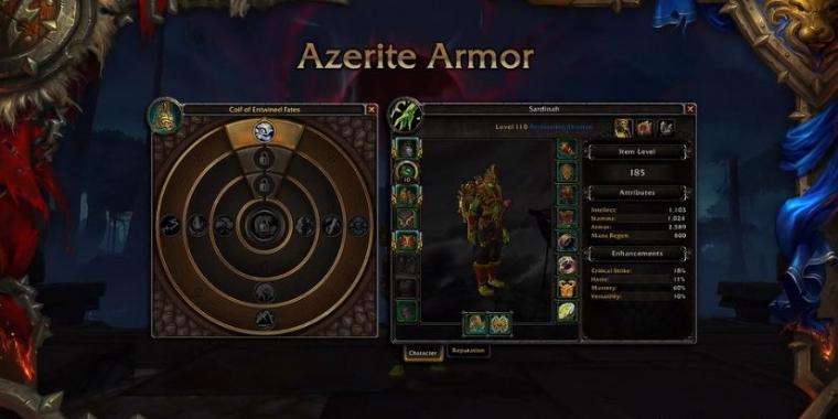 wow battle for azeroth umskillen azerit traits wird