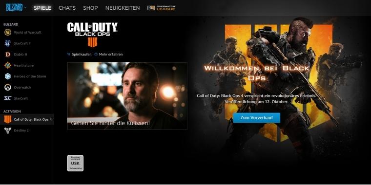 Call Of Duty Black Ops 4 Erscheint Exklusiv Auf Blizzard Battlenet