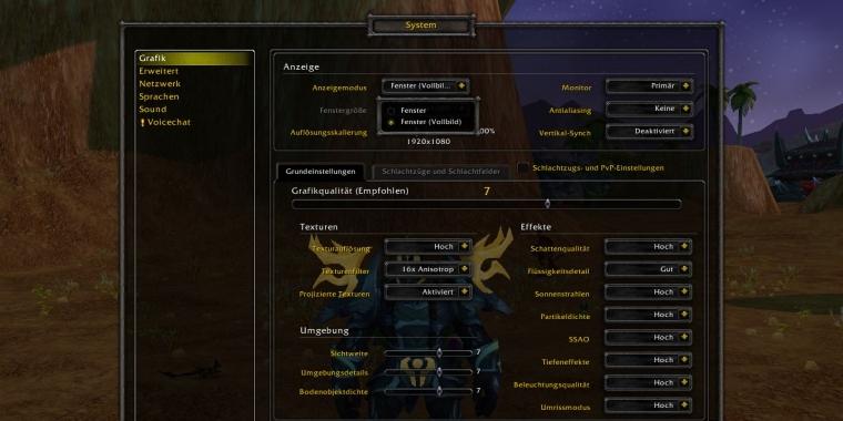 WoW: Vollbild weg, DirectX 12 da - wie läuft World of