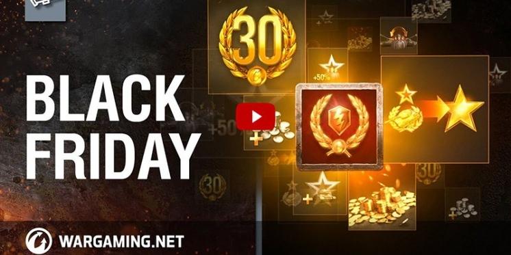 02a24af2813e75 Wargaming feiert Black Friday - viele Angebote und Rabatte