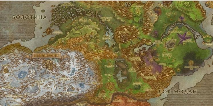 WoW: So sehen Azeroth und Co. im Google-Maps-Stil aus