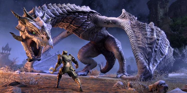teso offizielle vorschau auf die drachen von elsweyr