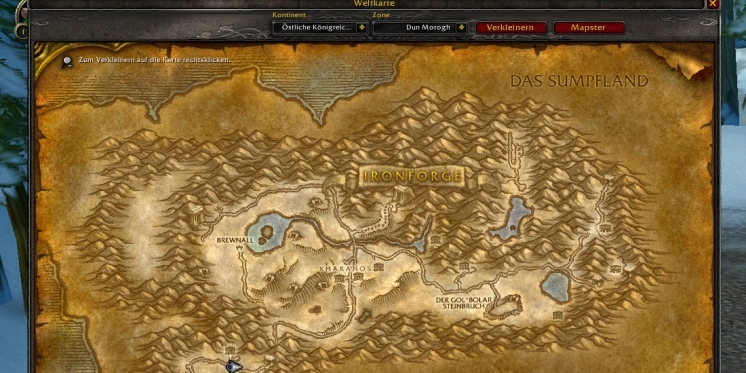 WoW-Classic-Addon: Mapster - freie Sicht auf Azeroth