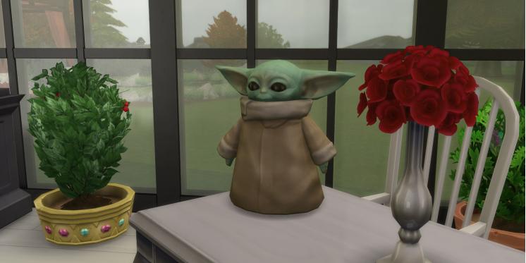 Die Sims 4 Baby Yoda Gibt Es Jetzt Als Deko Für Eure Sims