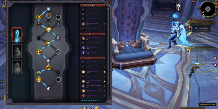 WoW: Patch 9.1 - new talents and upgradeable media slots for the soul band (2)
